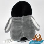 Skippy, a plüss pingvin hátulról