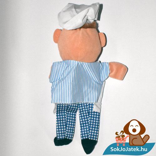 Muppet Show svéd szakács kesztyűbáb hátulról