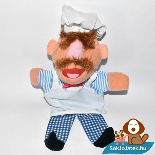 Muppet Show svéd szakács kesztyűbáb ültetve