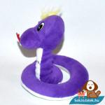 Choclairs lila plüss kígyó oldalról
