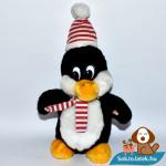 Windel csíkos sálas plüss pingvin