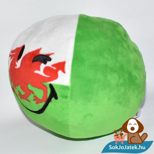 Smiley World zászlós plüss labda - Wales balról