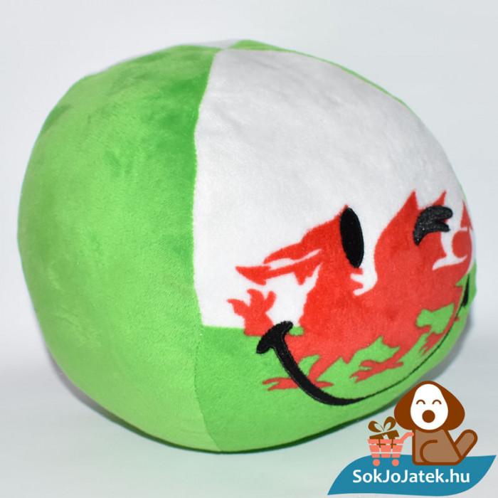 Smiley World zászlós plüss labda - Wales jobbról