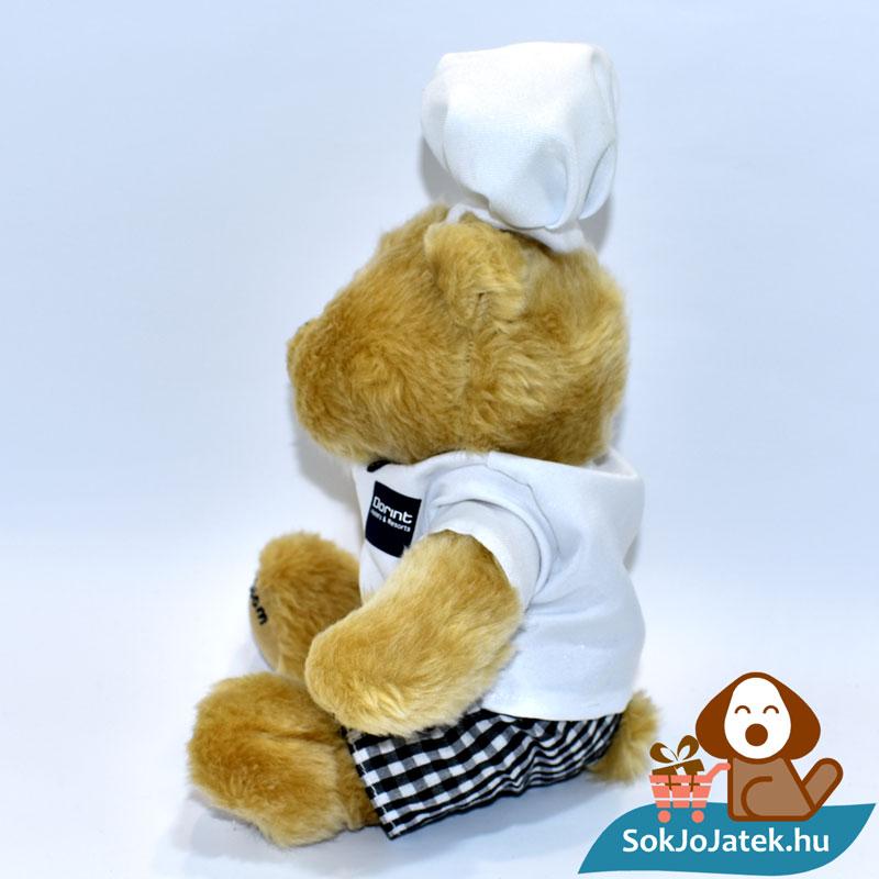 Dorint szakács plüss maci oldalról