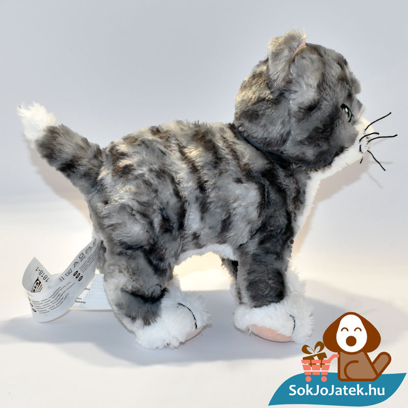 Ikea Lilleplutt plüss cica oldalról