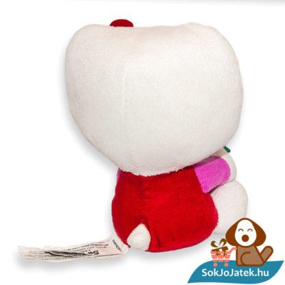 Hello Kitty plüss virágcseréppel hátulról