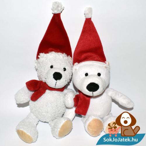 Kinder plüss jegesmedve - bolyhos és sima szőrű