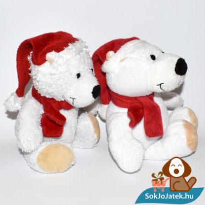 Kinder plüss jegesmedve - bolyhos és sima szőrű, jobbról