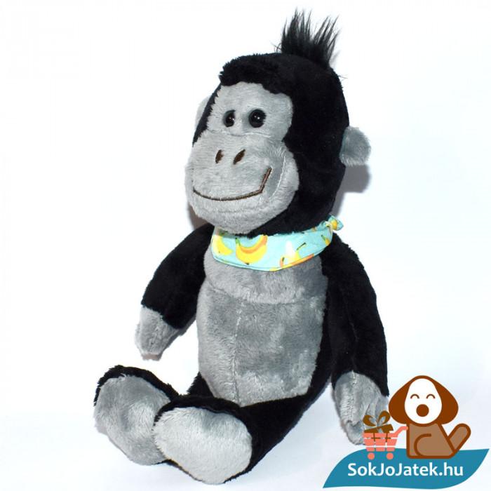 Kinder plüss majom banános kendővel, balról