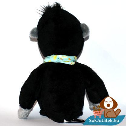 Kinder plüss majom banános kendővel, hátulról