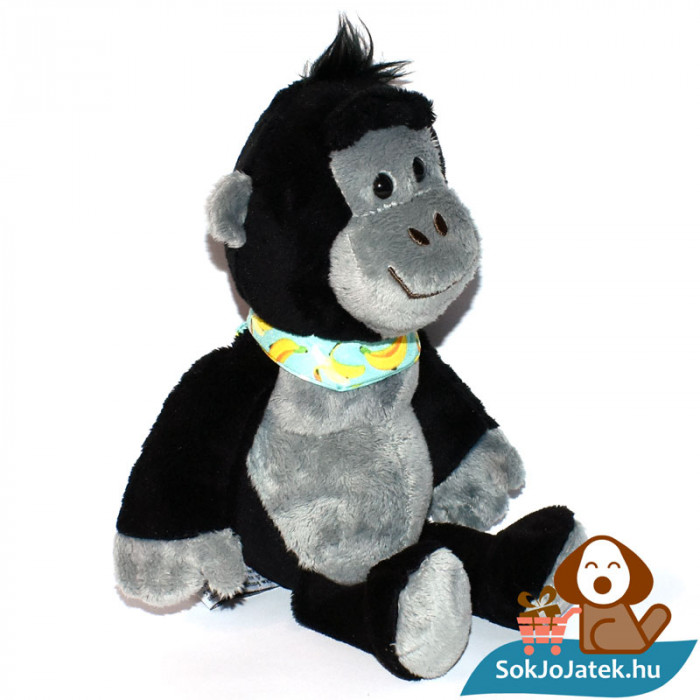 Kinder plüss majom banános kendővel, jobbról