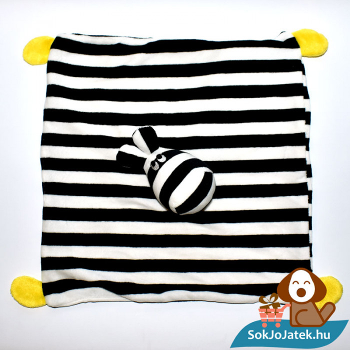 Klappa zebra szundikendő (IKEA) felülről
