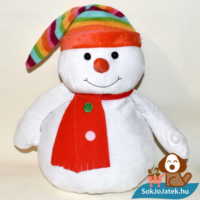 Chilly, szivárvány sapkás hóember