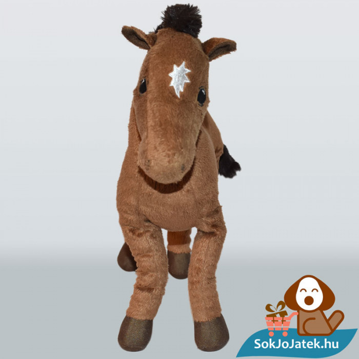IKEA barna plüss ló (Ökenlöpare) szemből