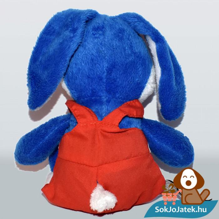 Kinder kék plüss nyuszi hátulról