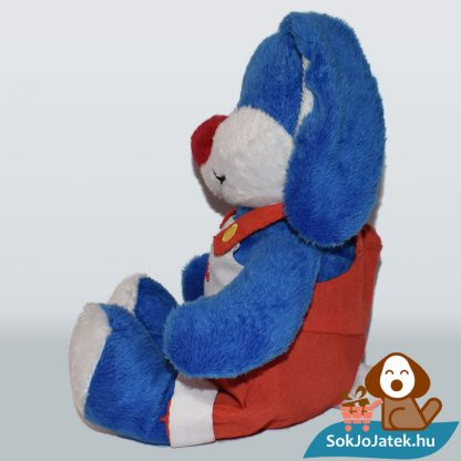 Kinder kék plüss nyuszi oldalról