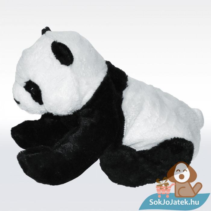 KRAMIG plüss panda maci (Ikea), oldalról