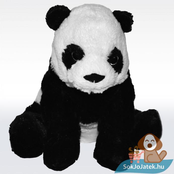 KRAMIG plüss panda maci (Ikea), szemből