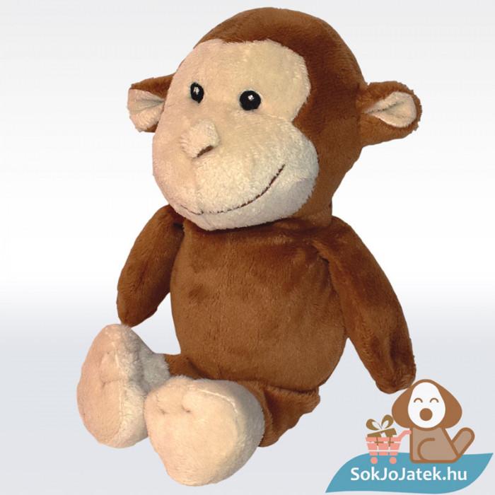 Kinder barna plüss majom, balról