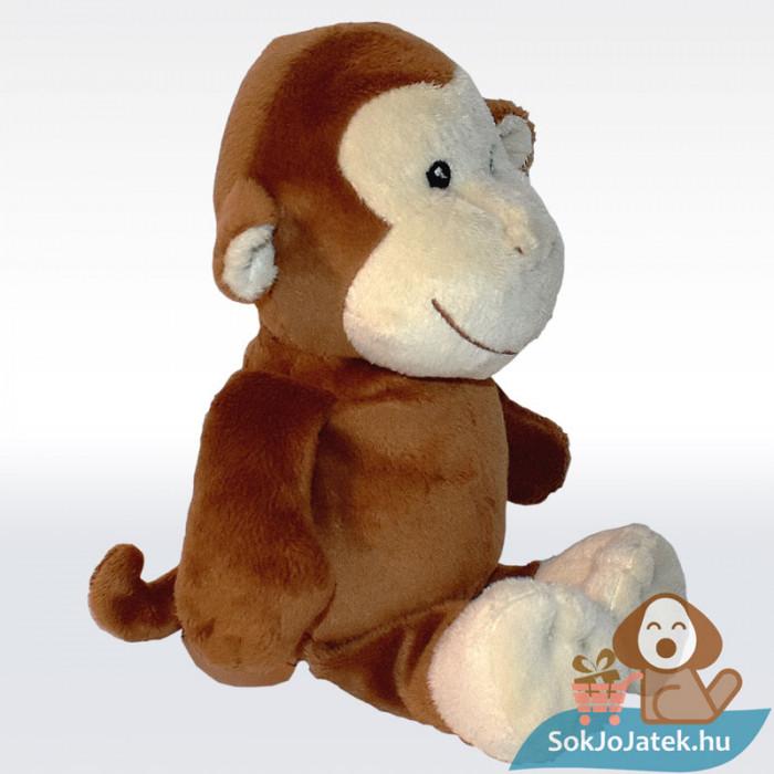 Kinder barna plüss majom, jobbról