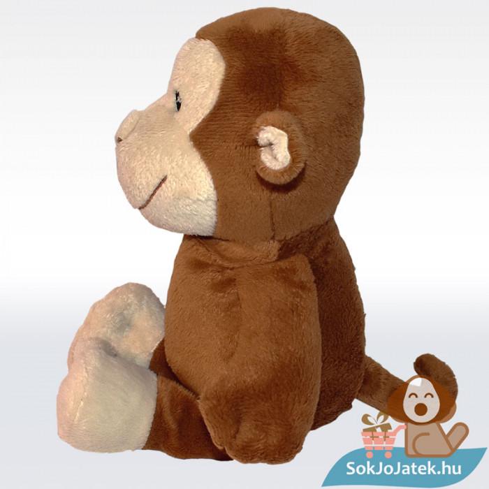 Kinder barna plüss majom, oldalról