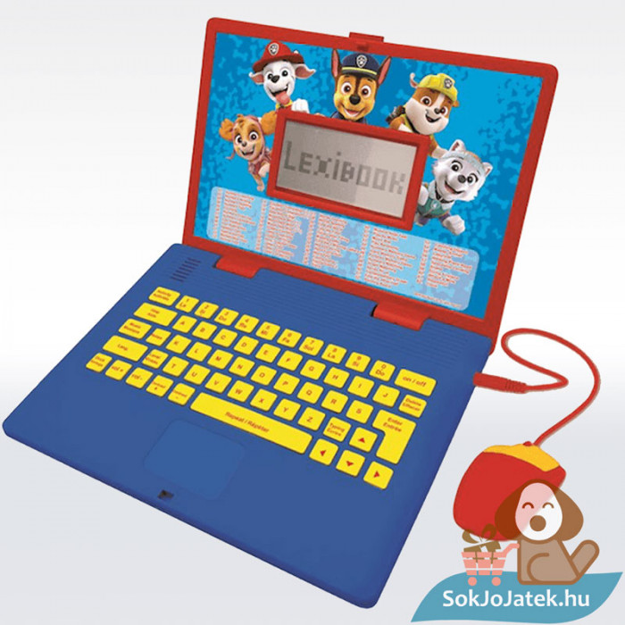 Lexibook Magyar/Angol nyelvű oktató laptop - Mancs Őrjárat