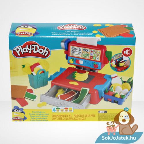 Play-Doh: Pénztárgép szett gyurma készlet