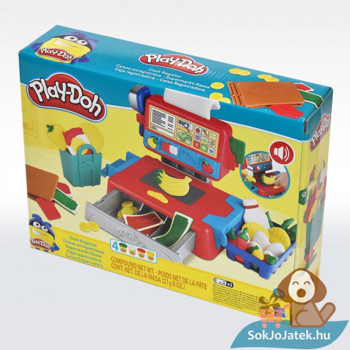 Play-Doh: Pénztárgép szett gyurma készlet, balról