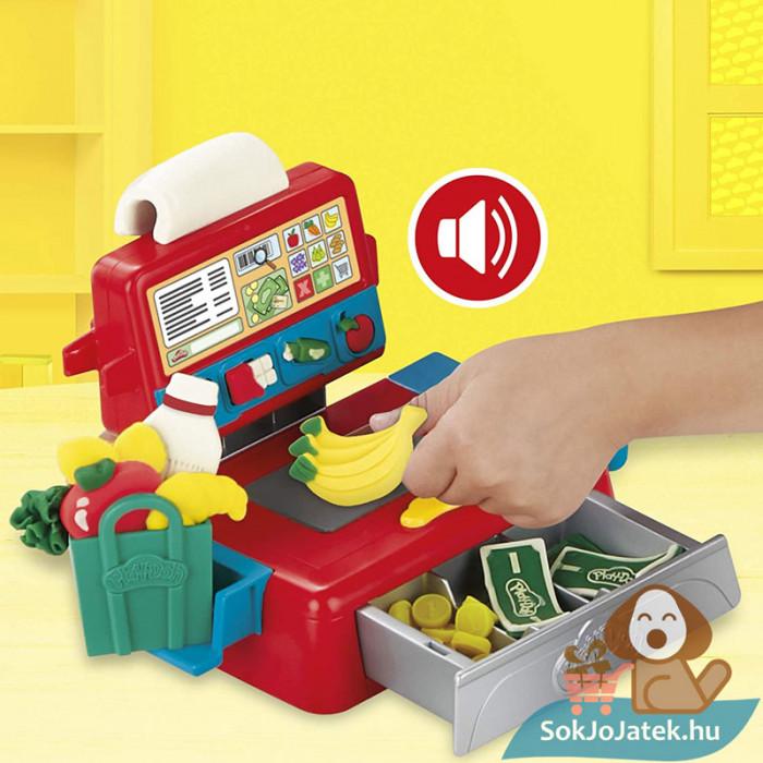 Play-Doh: Pénztárgép szett gyurma készlet, a kassza
