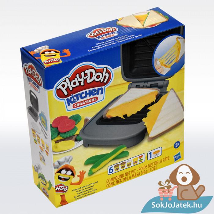 Play-Doh: Szendvicssütő szett gyurmával