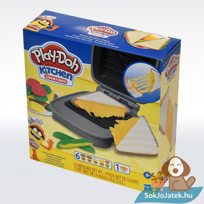 Play-Doh: Szendvicssütő szett gyurmával, balról