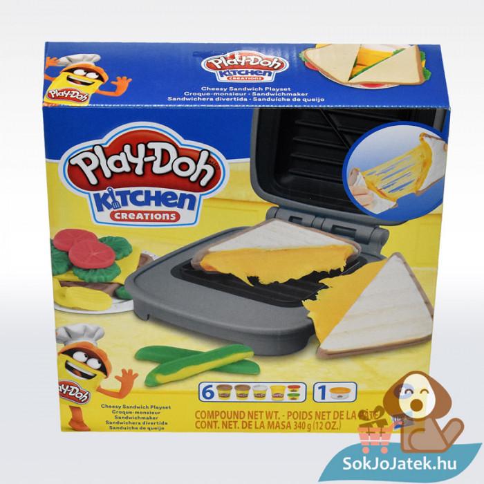Play-Doh: Szendvicssütő szett gyurmával, szemből