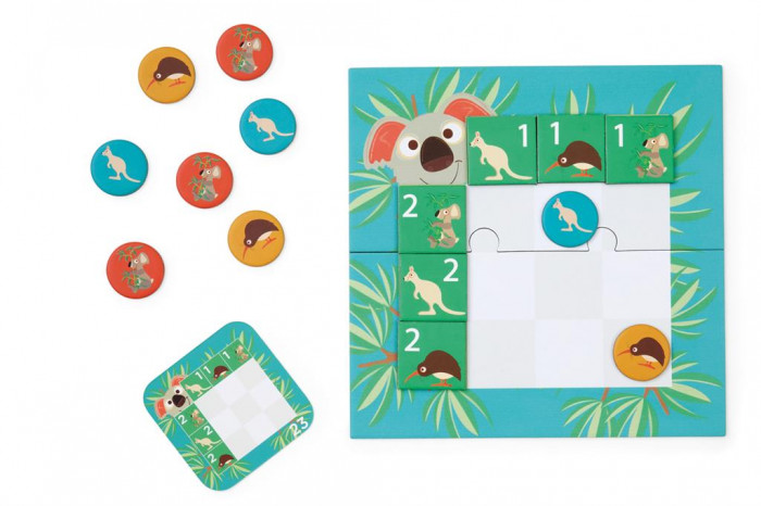 Koala kihívás logikai játék (Scratch Europe)