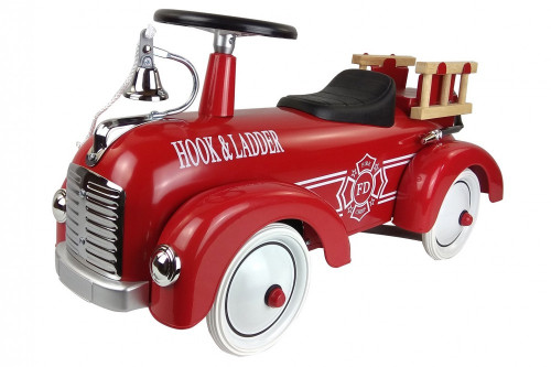 Ride-on lábbal hajtós tűzoltóautó Magni