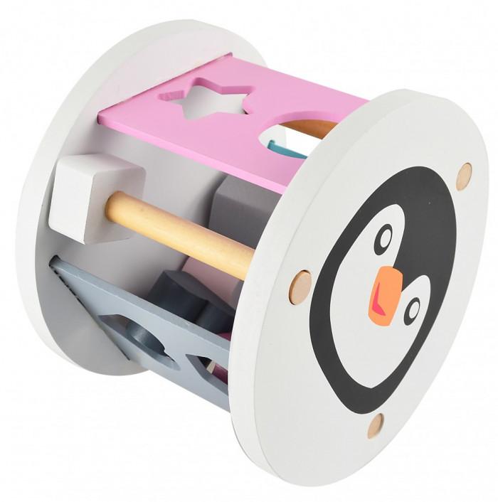 Pingvines fa formaválogató játék Magni