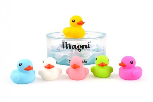 Kacsa család fürdőjáték dobozban, Magni