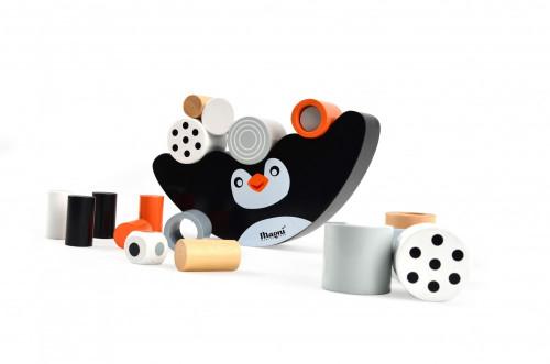 Pingvin egyensúlyozó fajáték, Magni