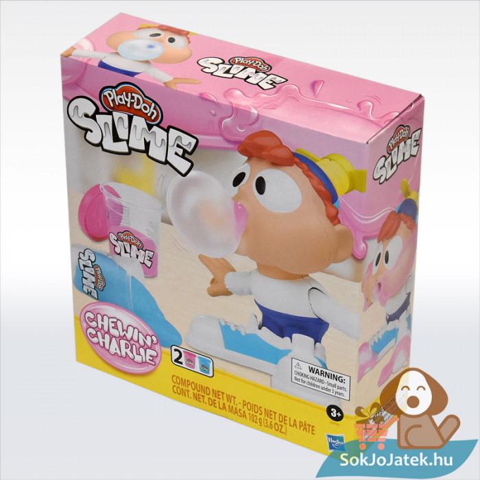 Play-Doh: Chewin Charlie slime, 2 darab, balról