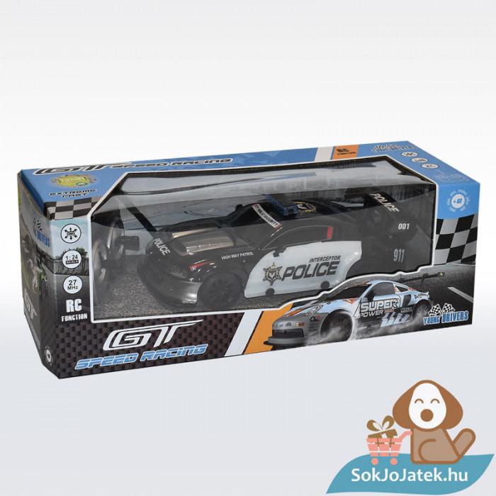 Tachan RC Távirányítós rendőr versenyautó 1:24 (CPA Toys), csomagolásban