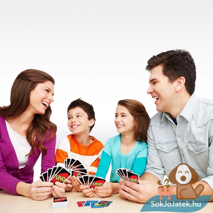 UNO kártya (Mattel) - családi társas