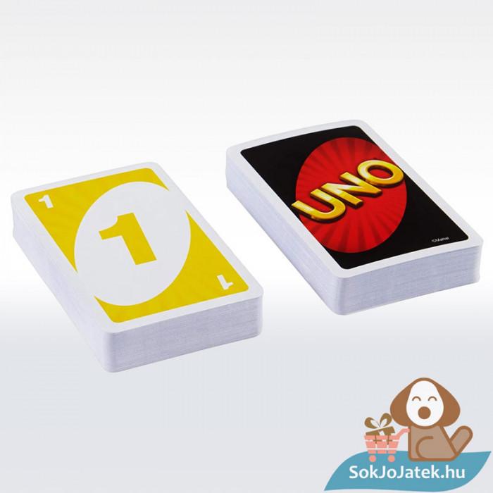 UNO kártya (Mattel) - kártyalapok