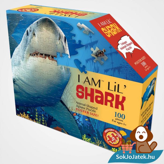 100 db élethű cápa forma kirakó junior - Wow Toys