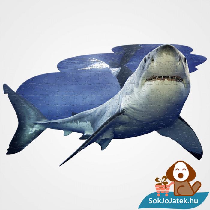 100 db élethű cápa forma kirakó junior - Wow Toys ragasztott kirakó