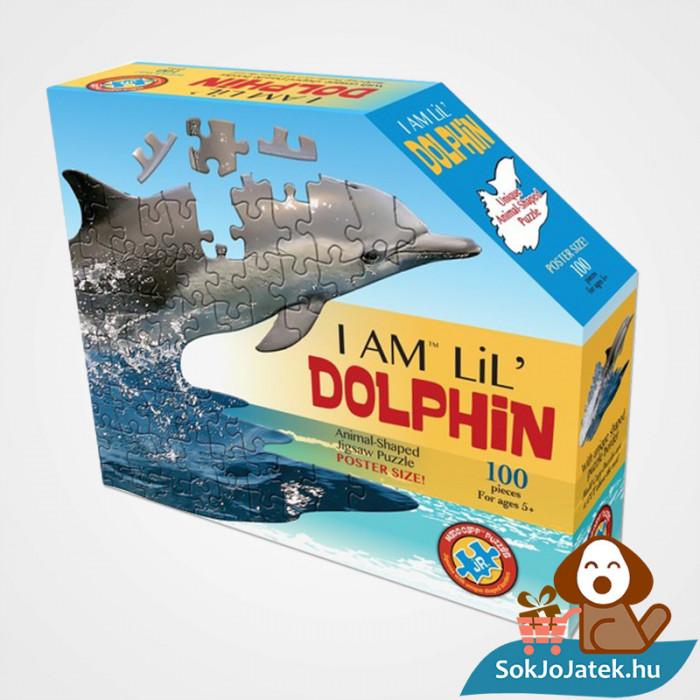 100 db élethű delfin forma kirakó junior - Wow Toys