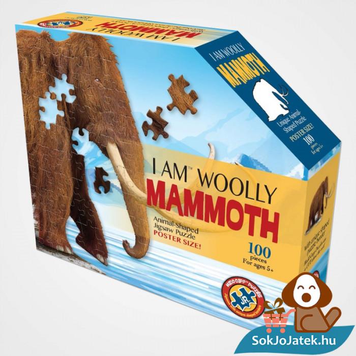 100 db élethű gyapjas mamut forma kirakó junior - Wow Toys