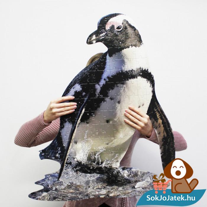 100 db élethű pingvin forma kirakó junior - Wow Toys a kézben