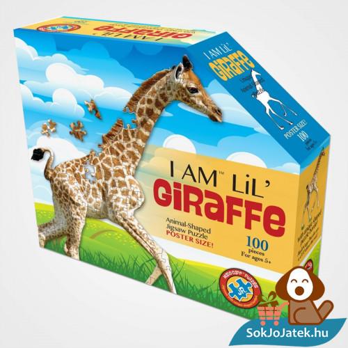 100 db élethű zsiráf forma kirakó junior - Wow Toys