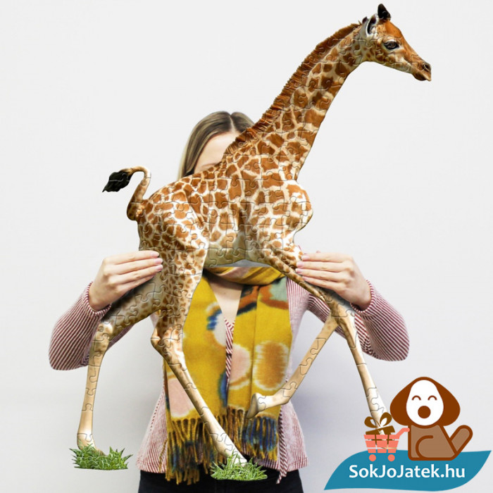 100 db élethű zsiráf forma kirakó junior - Wow Toys ragasztott kép