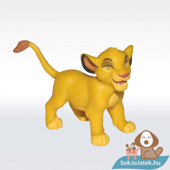 Az Oroszlánkirály: Simba kölyök gumírozott figura - Bullyland
