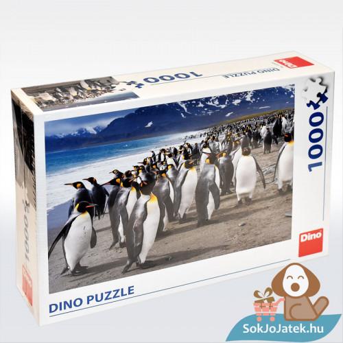 Dino Puzzle: Pingvinek - 1000 db